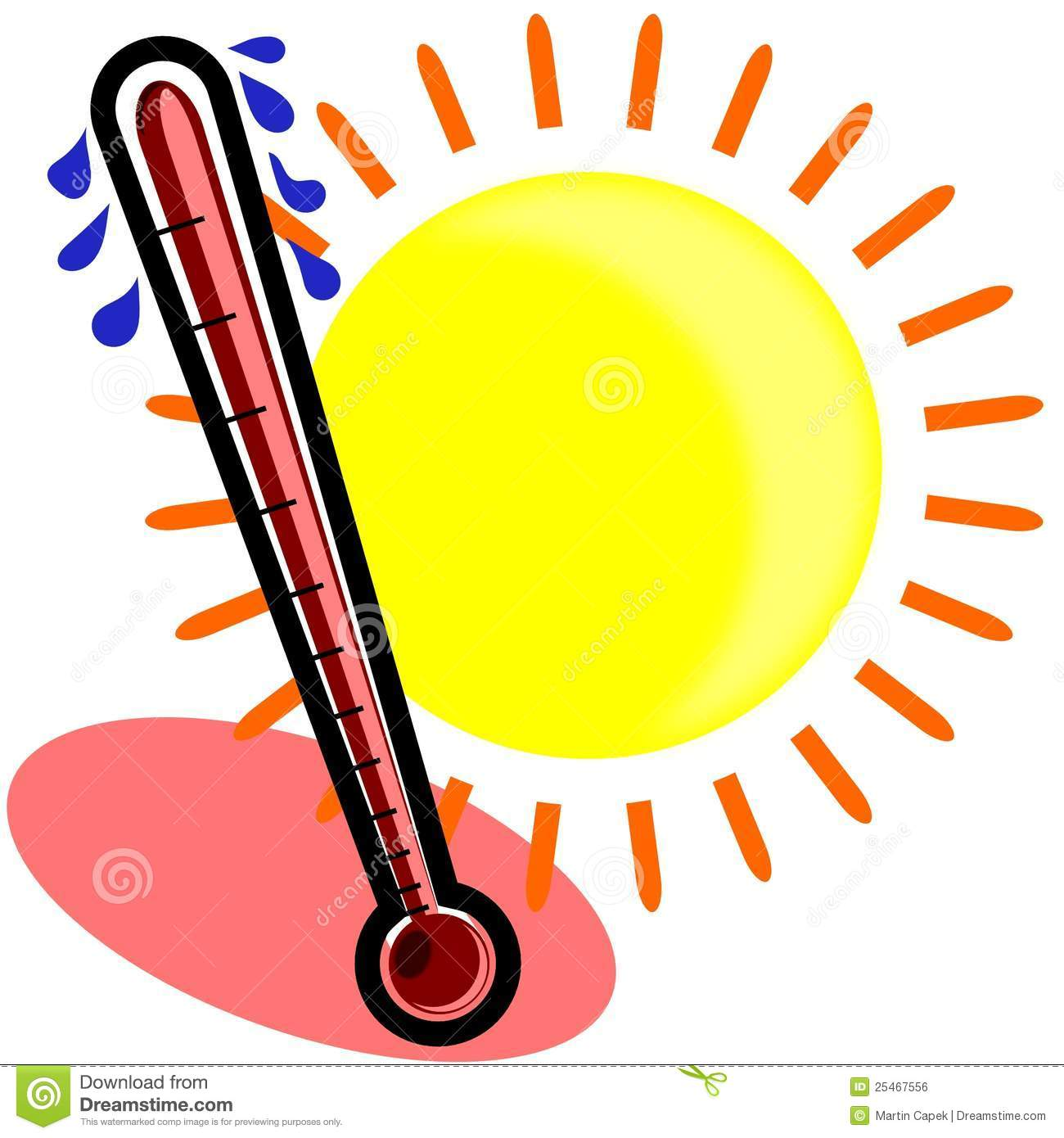 Heat clipart thermostat.  hot clip art