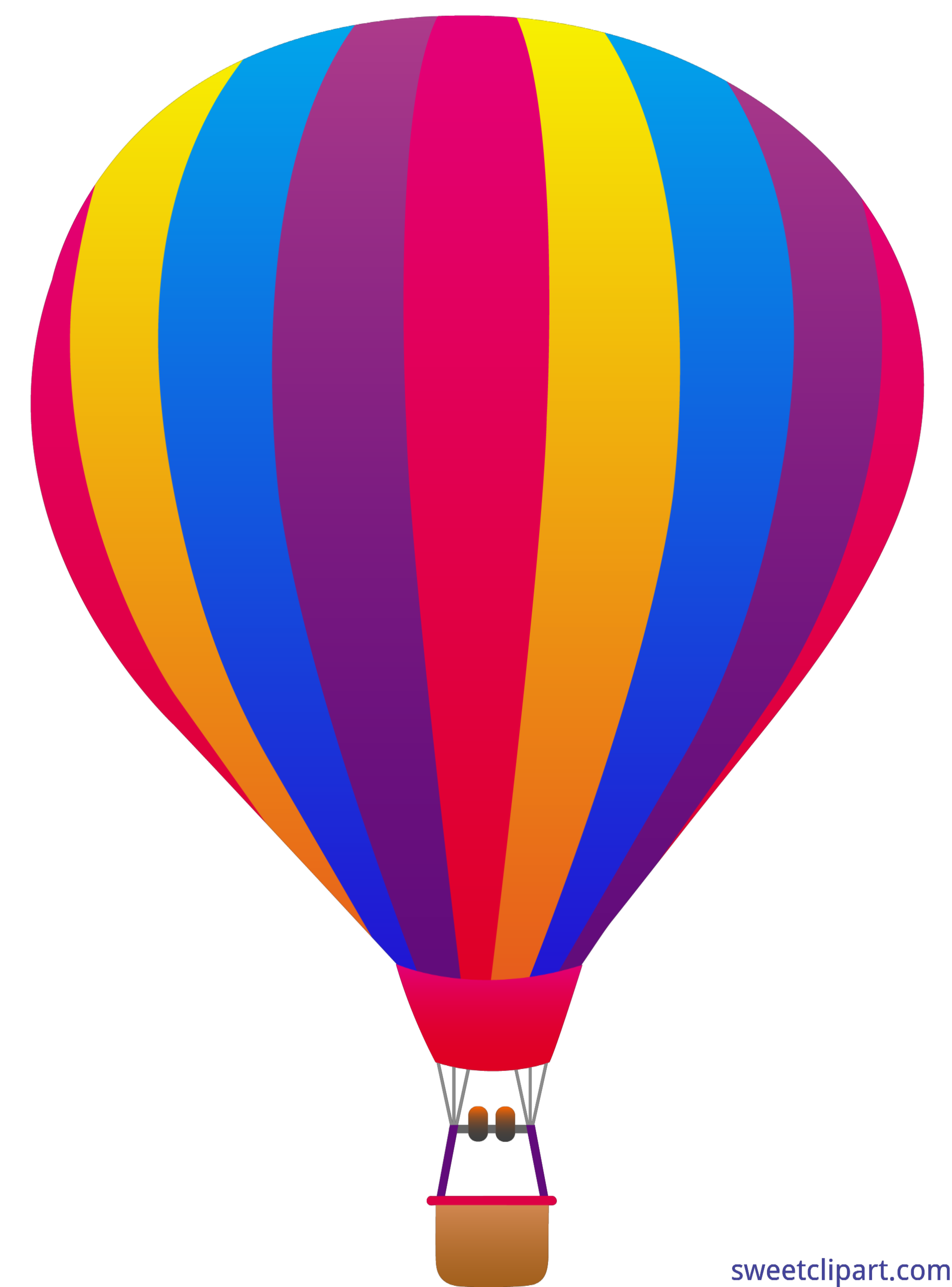 Air balloon striped clip. Microwave clipart hot oven