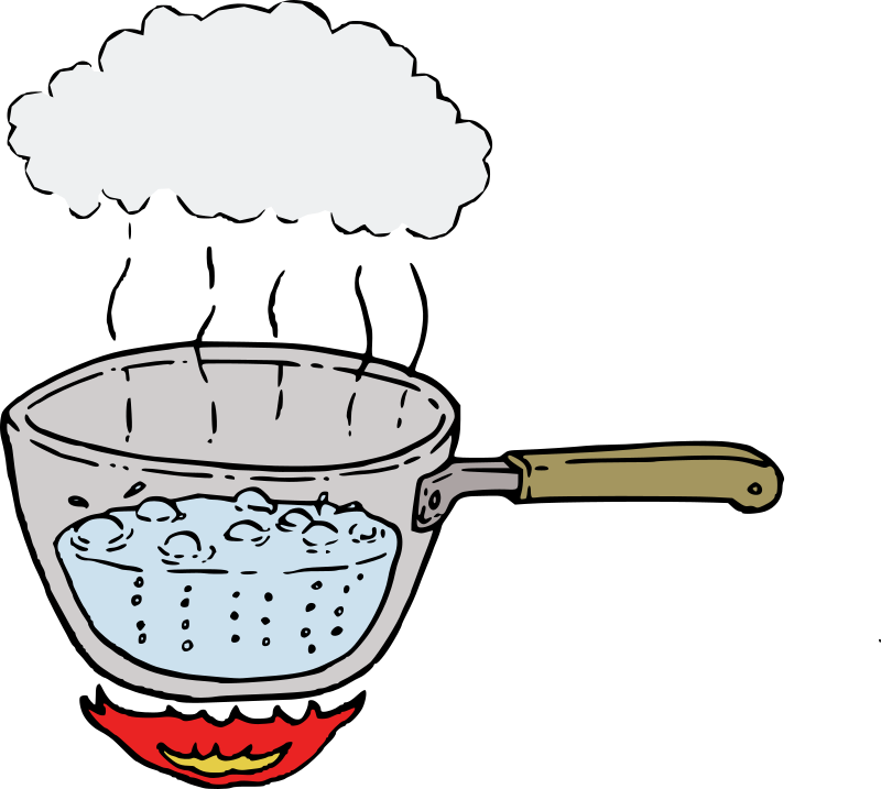 Hot clipart boiling point. Collection of free download