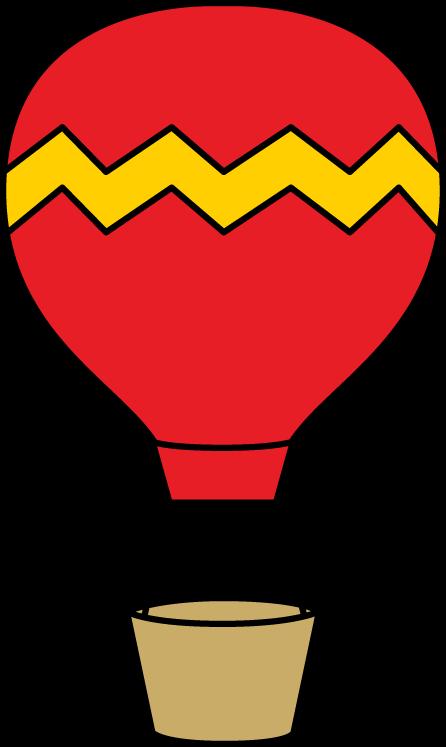 Air balloon bulletin board. Hot clipart chair