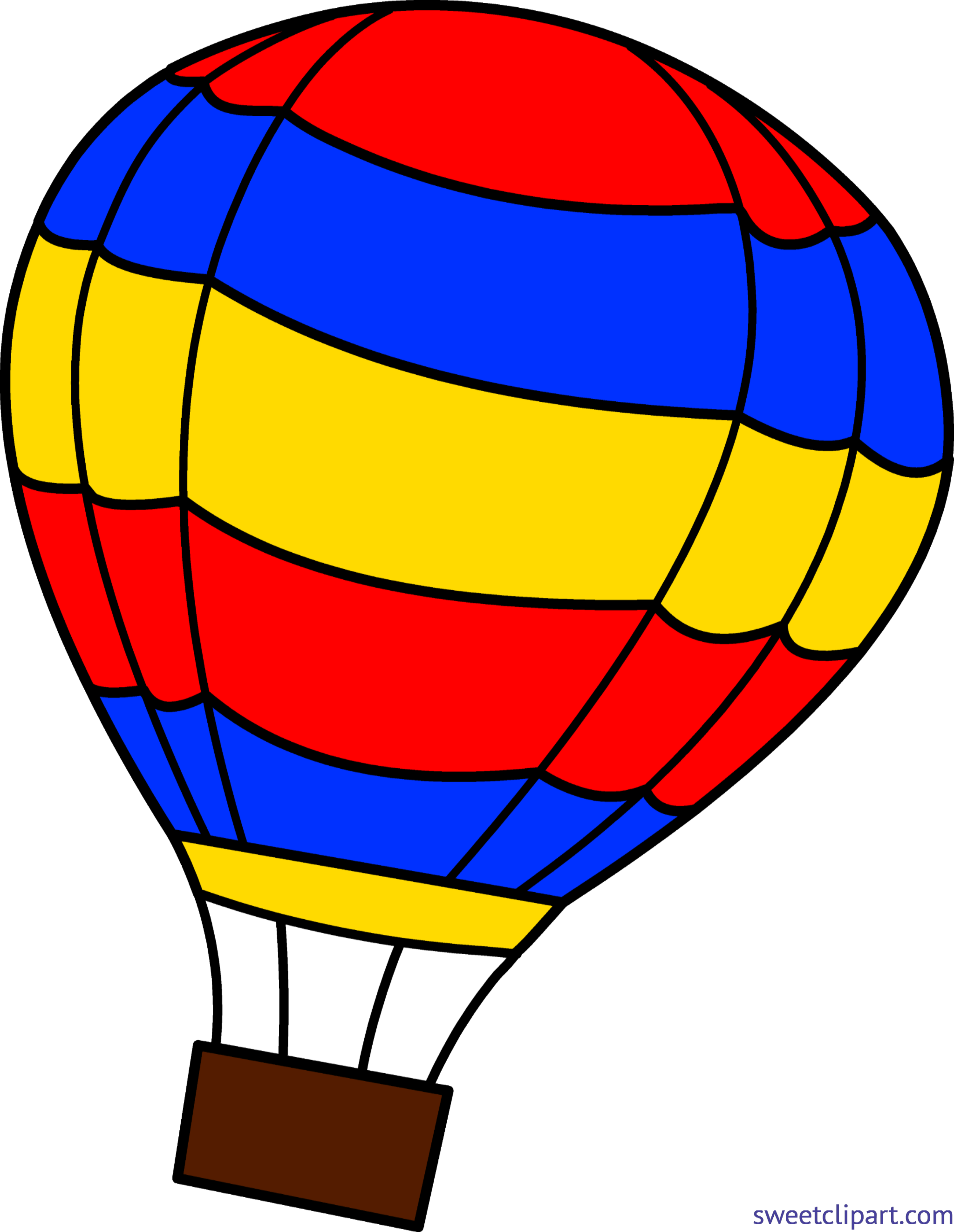 Clip art sweet. Red clipart hot air balloon