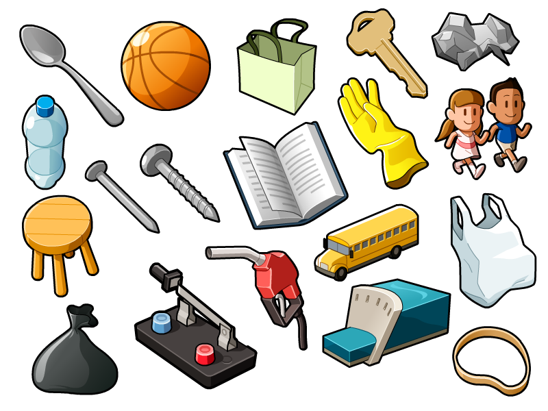 Hot clipart comparison adjective. Random objects pinterest by