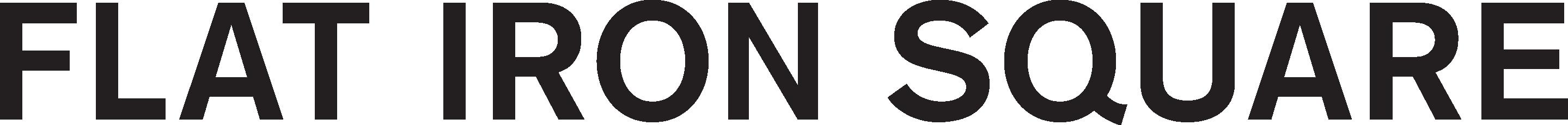 Square logo. Hot clipart flat iron