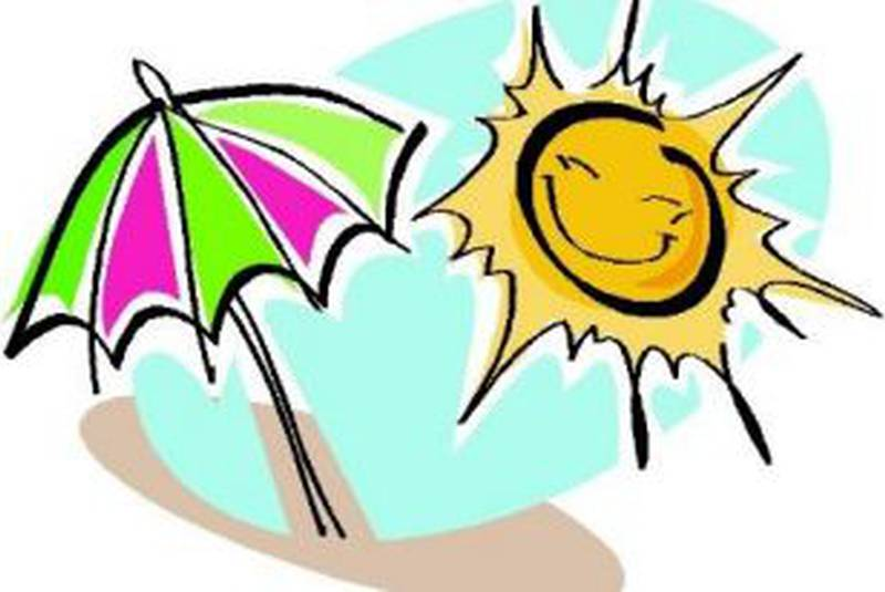 Hot clipart weather nice. Warm records falling across
