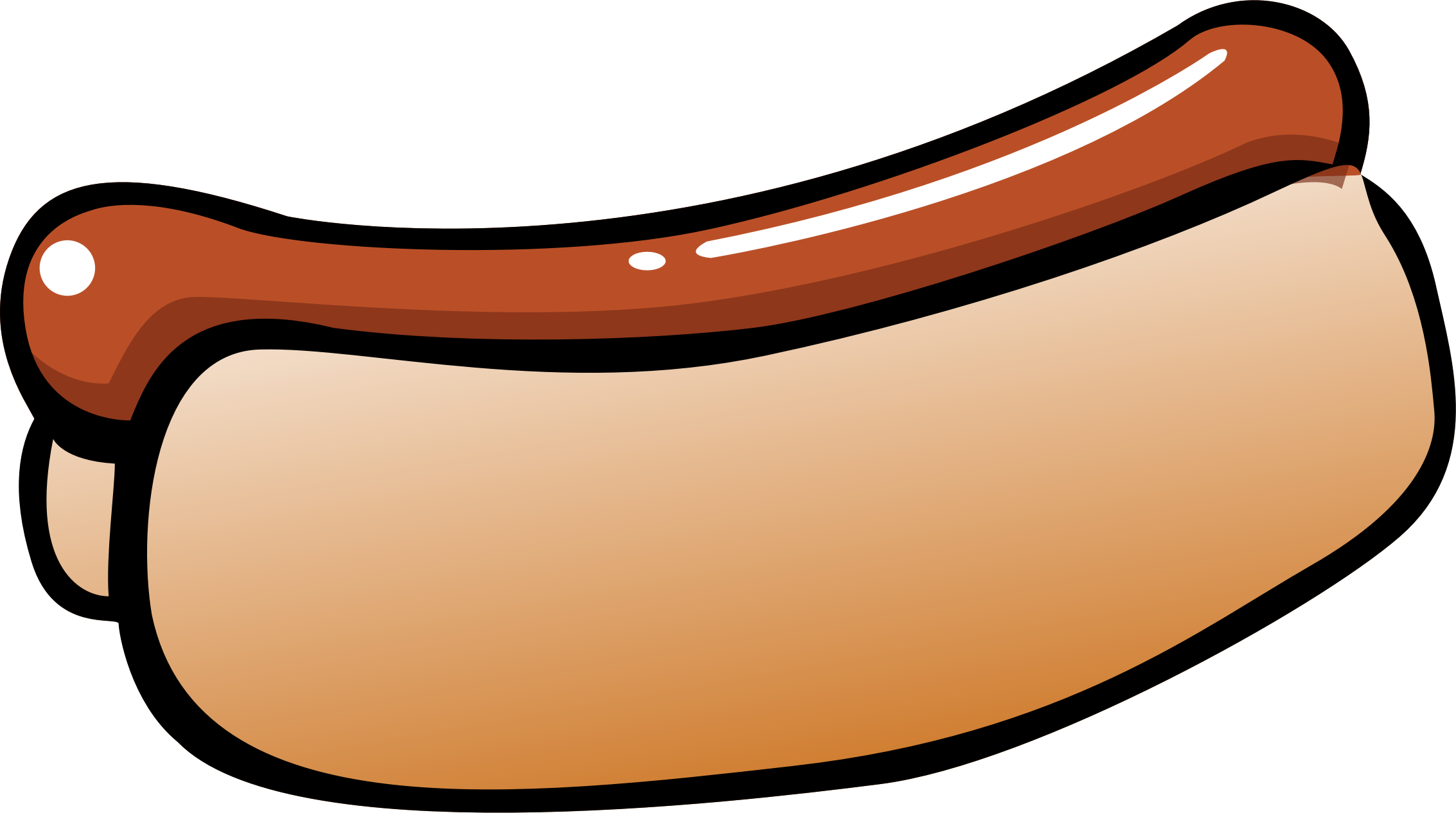 Summer hot dog big. Food clipart baseball