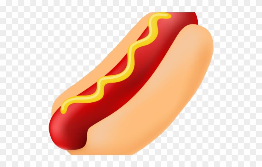 Hotdog clipart american food. Hot dogs fast cartoon