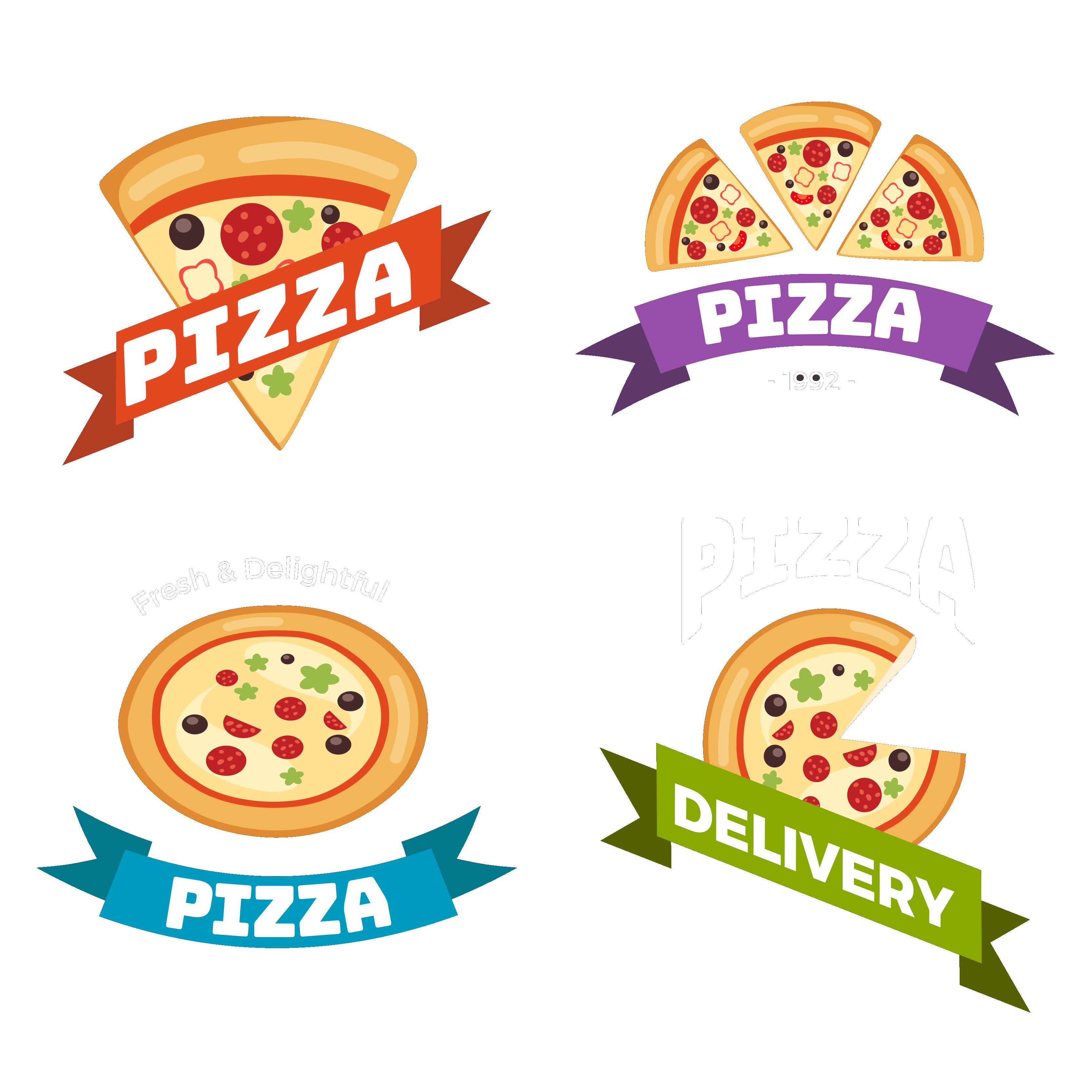 Logo clip art slices. Hotdog clipart chicken pizza