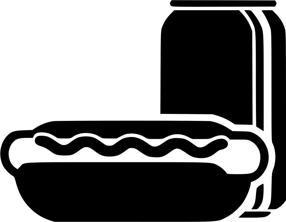 Hotdog Clipart Chip Drink Hotdog Chip Drink Transparent Free For