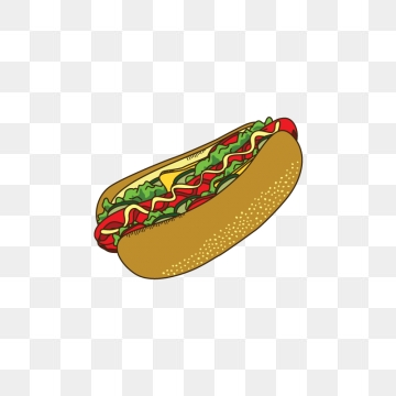 Png vector psd and. Hotdog clipart fast food