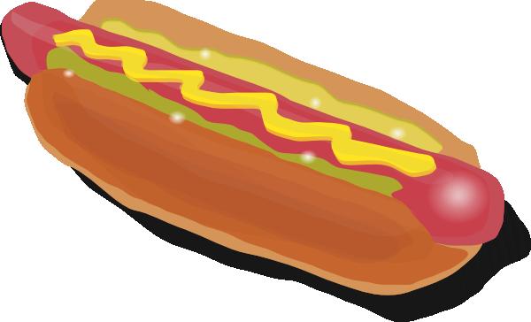 Hotdog clipart hog dog. Hot sandwich clip art