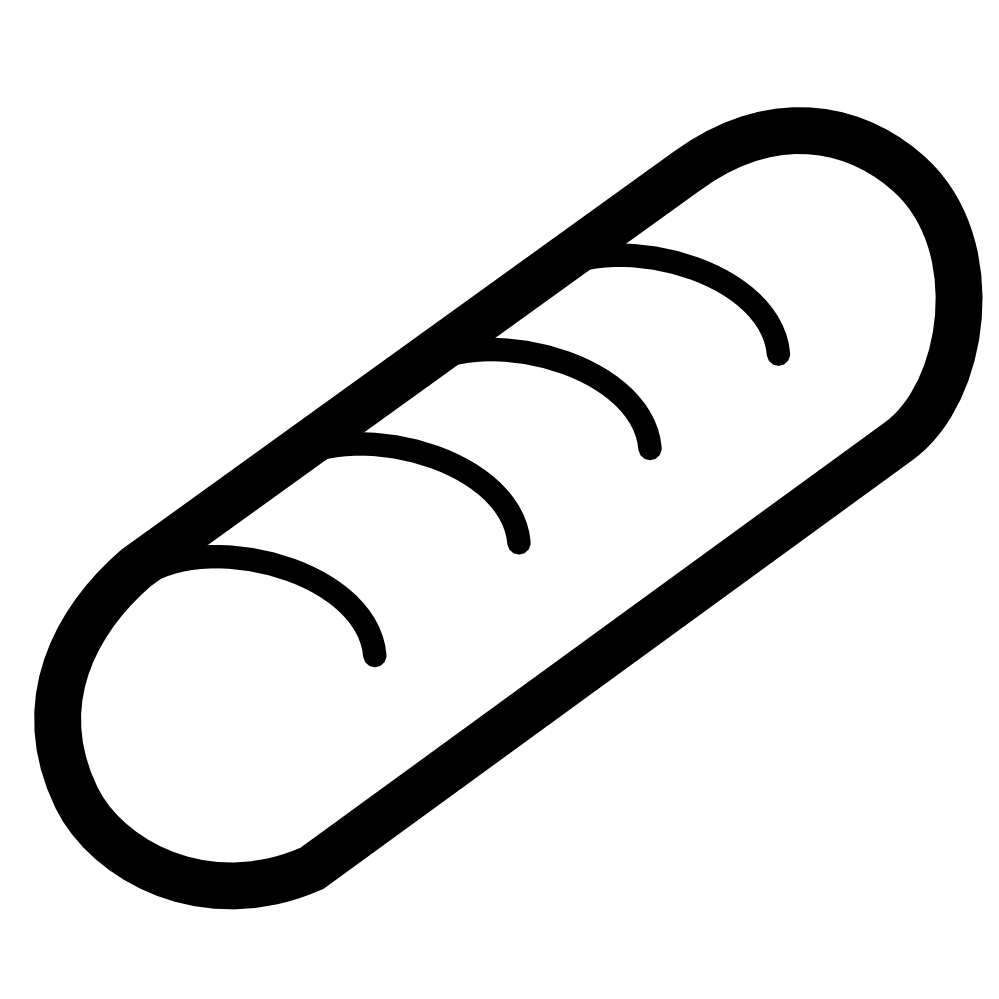 collection of hot. Hotdog clipart outline