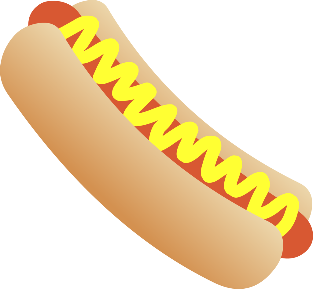 hot dogs fast. Hotdog clipart simple food