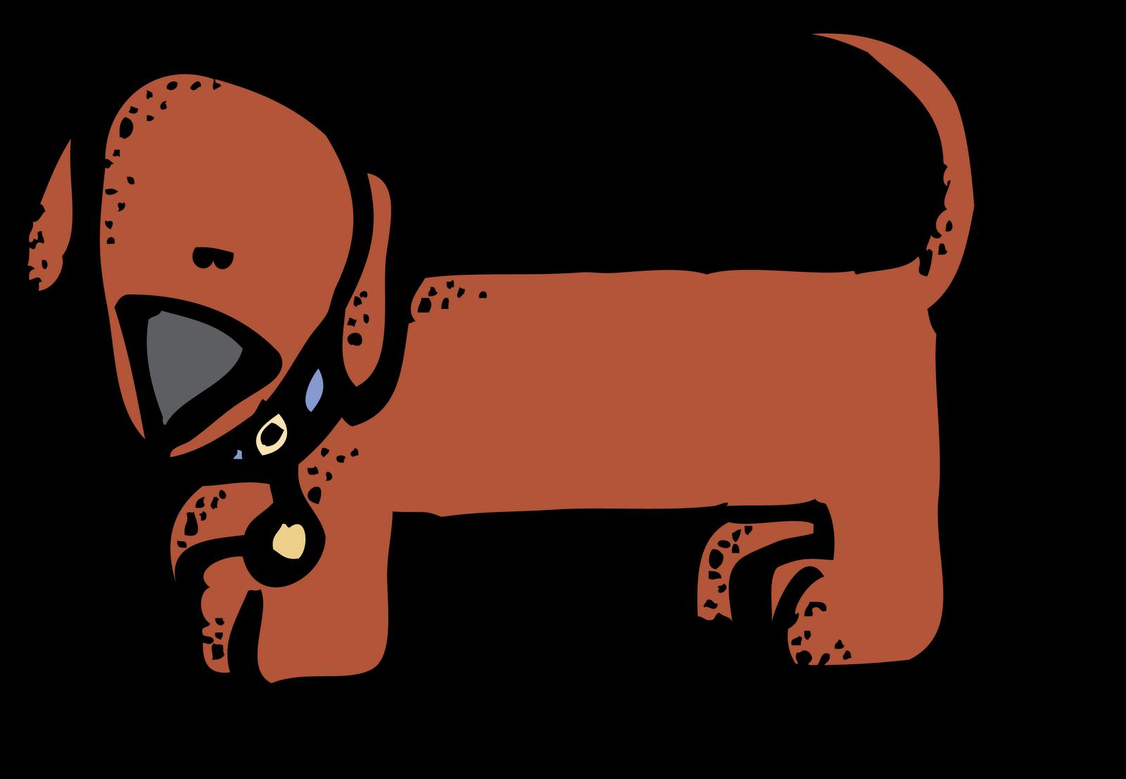 Hotdog clipart stick clipart. Wiener dog melonheadz clip
