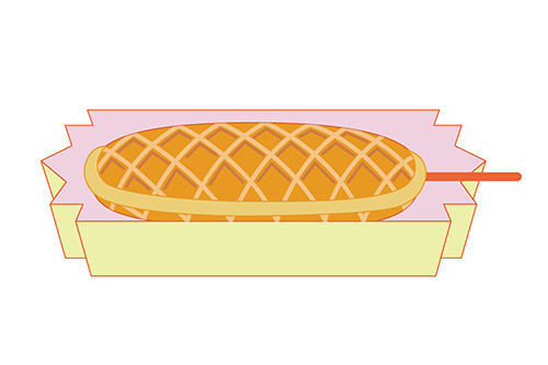 Download hot dog clip. Waffle clipart hotdog