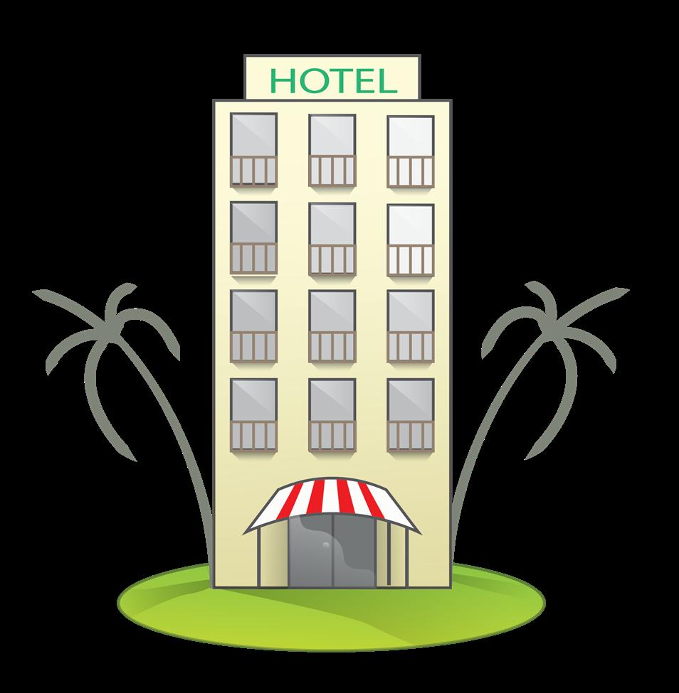 Hotel clipart. Clip art images panda
