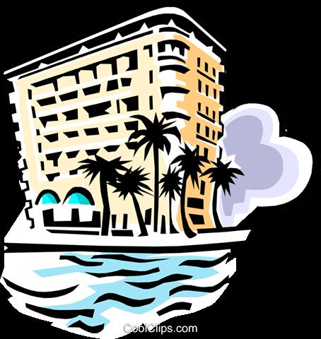 Hotel clipart beach hotel. Cliparts zone