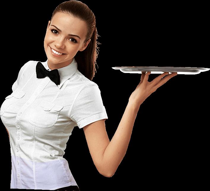 Png images free download. Restaurants clipart cafe waiter