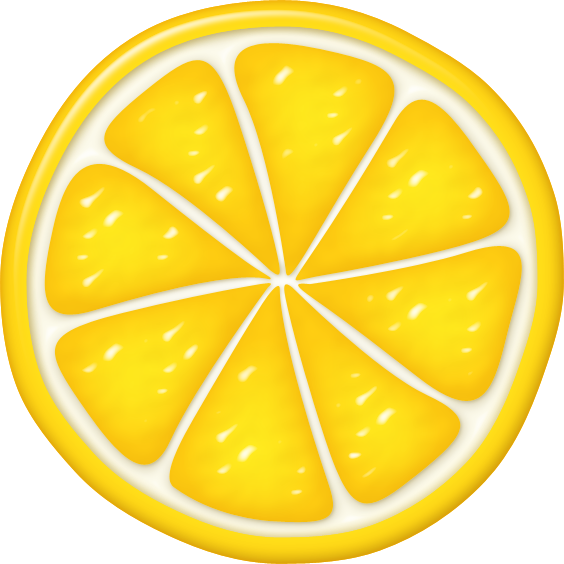 Lemons clipart lamon. Dg orangeslice png pinterest