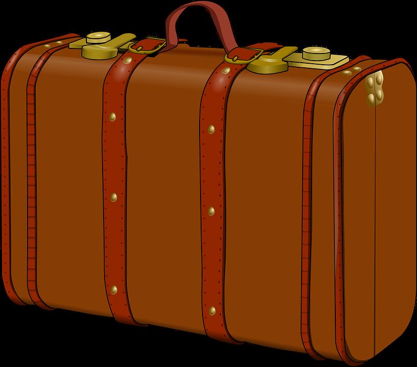 Luggage clipart international travel. Las vegas shooter brought