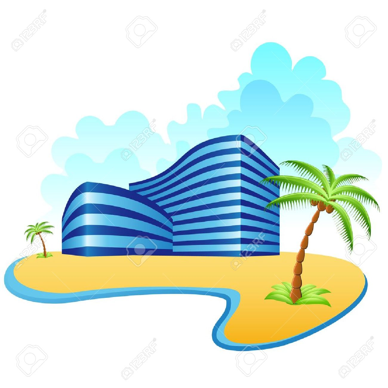 Hotel clipart holiday resort. Images free download best