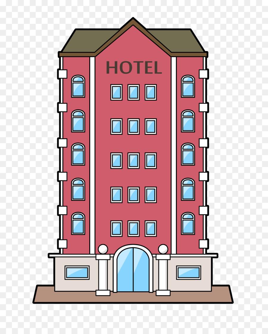 Hotel clipart hotel building. Background transparent