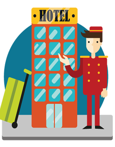 Hospitality cliparts x making. Hotel clipart hotel management