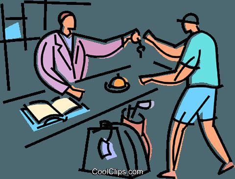 Hotel clipart hotel receptionist. Free download best