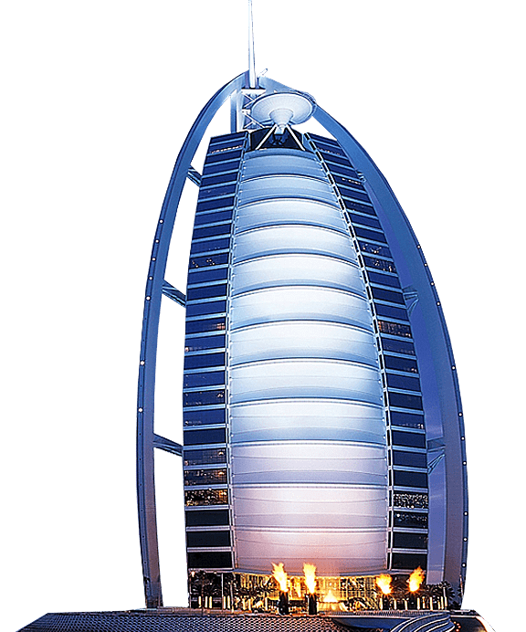 Burj al arab hotel. Tower clipart malaysia twin tower