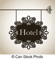 Frame over panda free. Hotel clipart vintage hotel