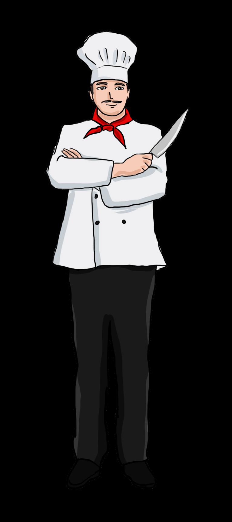 Hotel clipart waiter italian. Free men chef cliparts