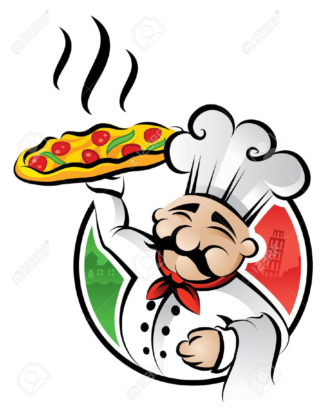 Hotel clipart waiter italian. Chef google search decorations