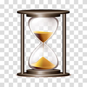 Hourglass clipart 1 hour. Vector transparent background png