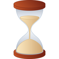 Hourglass clipart. Download free png photo
