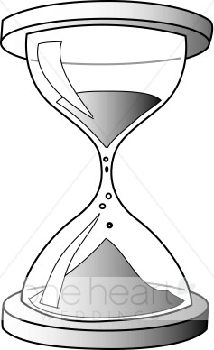 Hourglass clipart. Wedding decorations