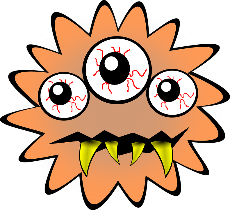 Bacteria bug free on. Storytime clipart library