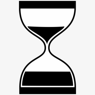 Clip art free . Hourglass clipart basic