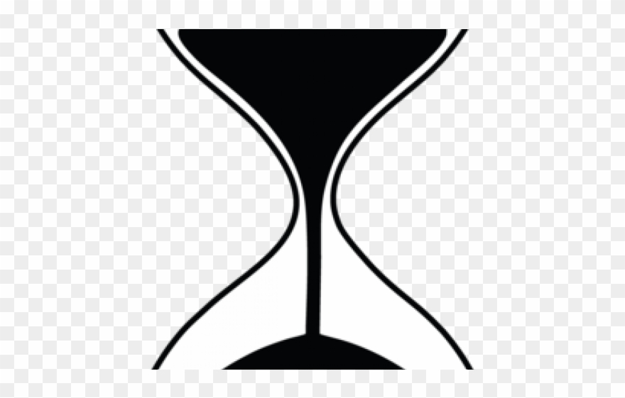Simple clip art png. Hourglass clipart basic