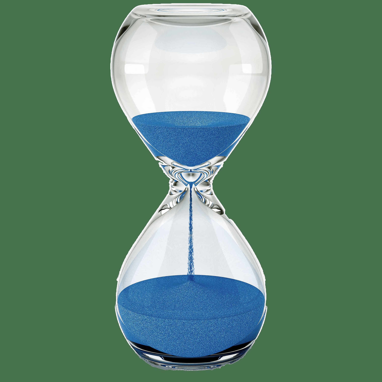 Hourglass clipart blue. Sand transparent png stickpng