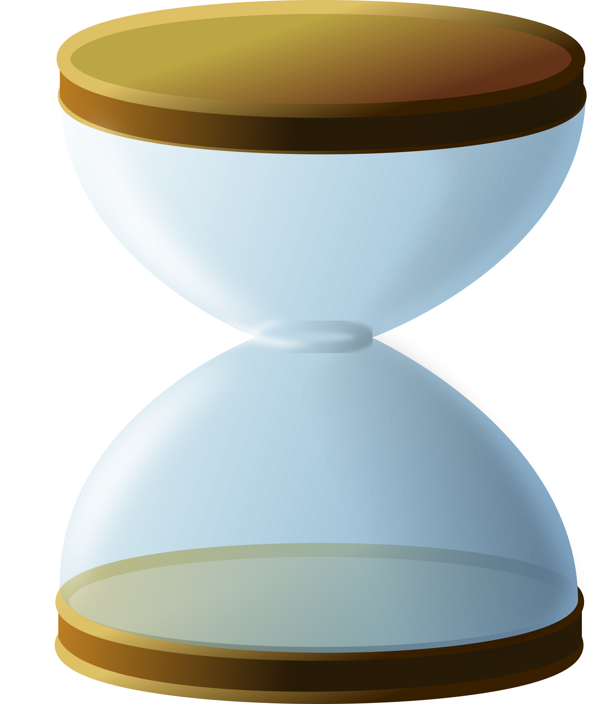 Hourglass clipart blue. Sand less big image