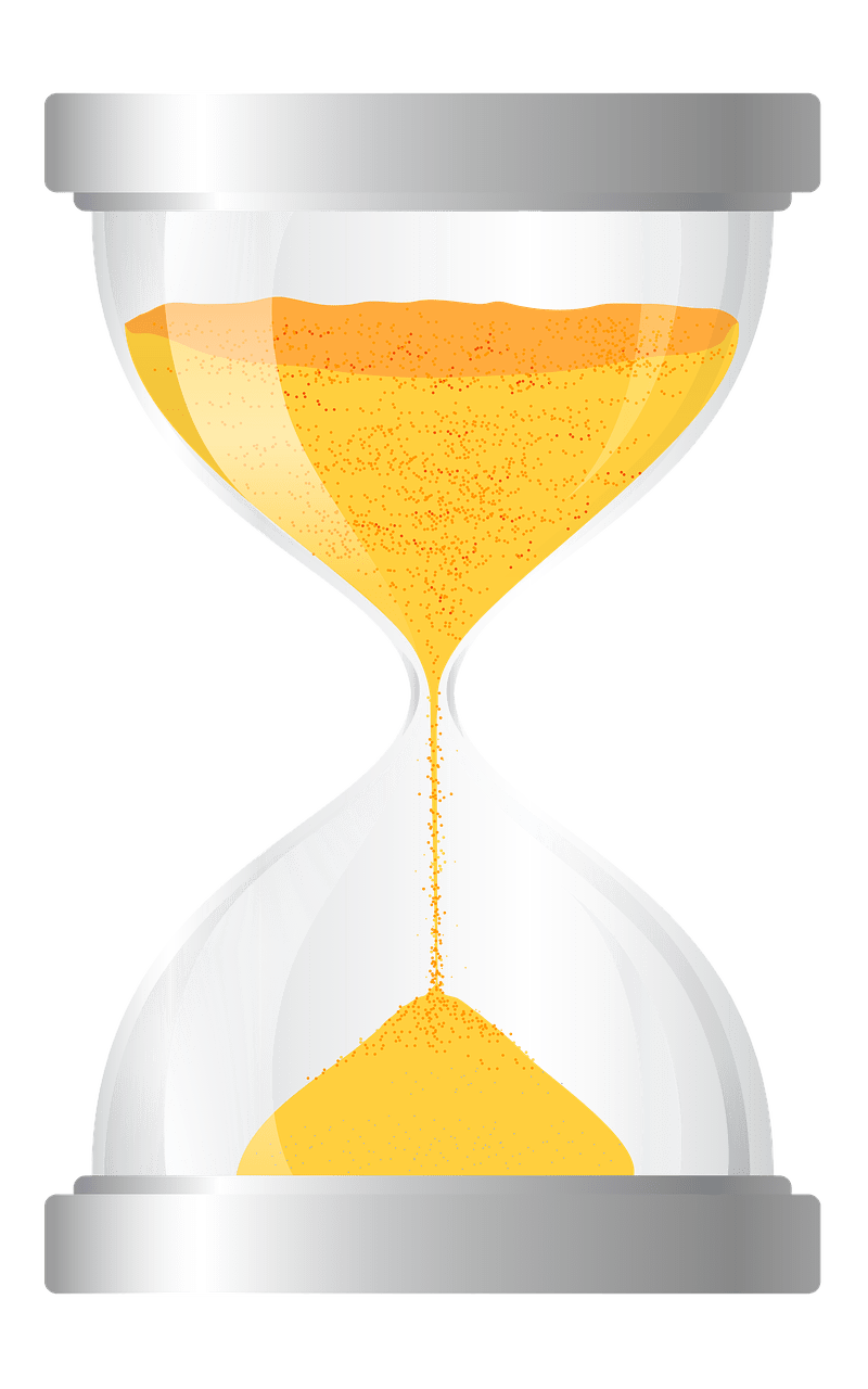Hourglass clipart blue. Large transparent png stickpng