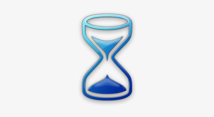 Hourglass clipart blue. Pencil and in color