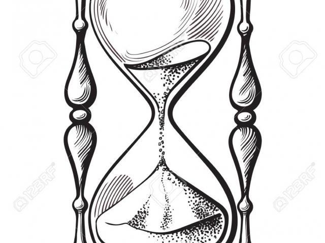 Hourglass clipart broken. Drawing free download best