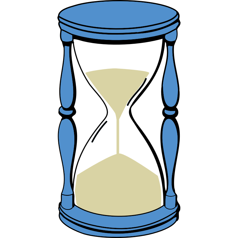Hour glass clip art. Patience clipart hourglass