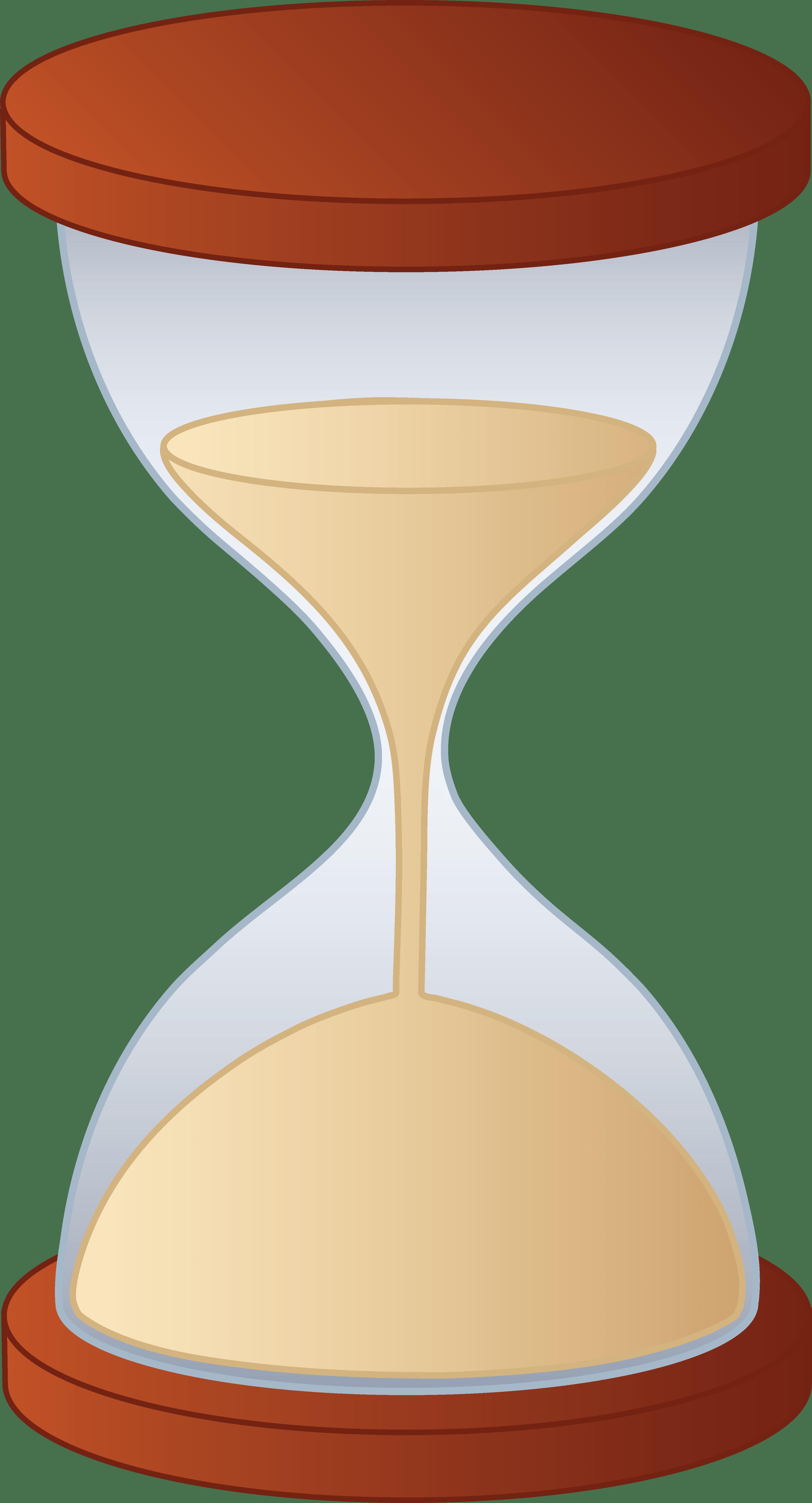 Egg timer clip art. Hourglass clipart cartoon