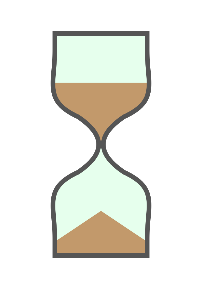 Hourglass clipart cute. Free animated gif download