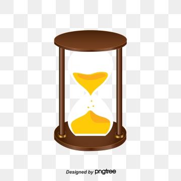 Cartoon png vector psd. Hourglass clipart cute