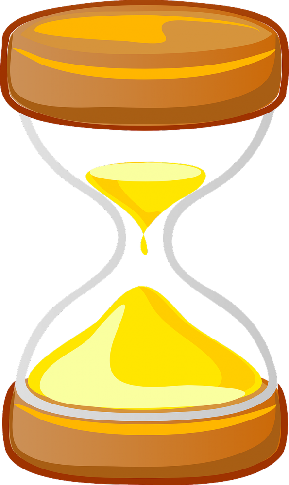 What to do when. Hourglass clipart egg timer