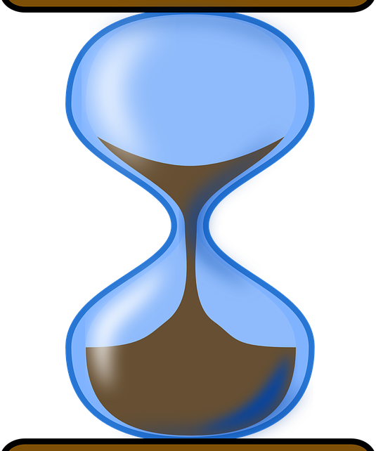 Hourglass clipart empty. Patience and diligence valueandprices