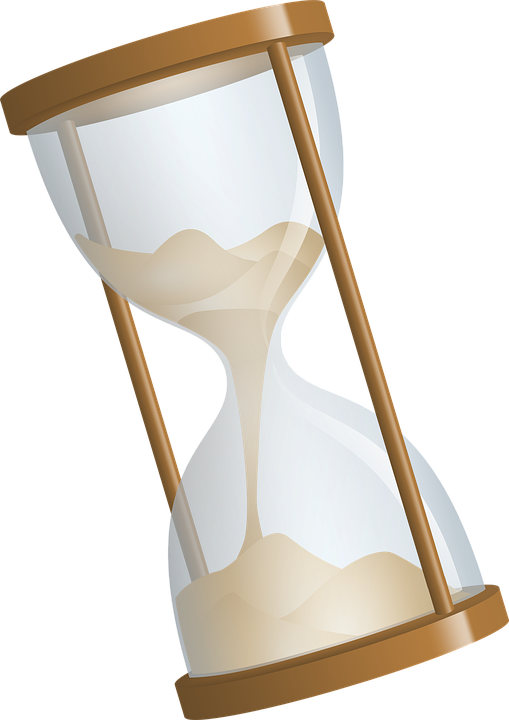 Extraversion and introversion mind. Hourglass clipart fancy