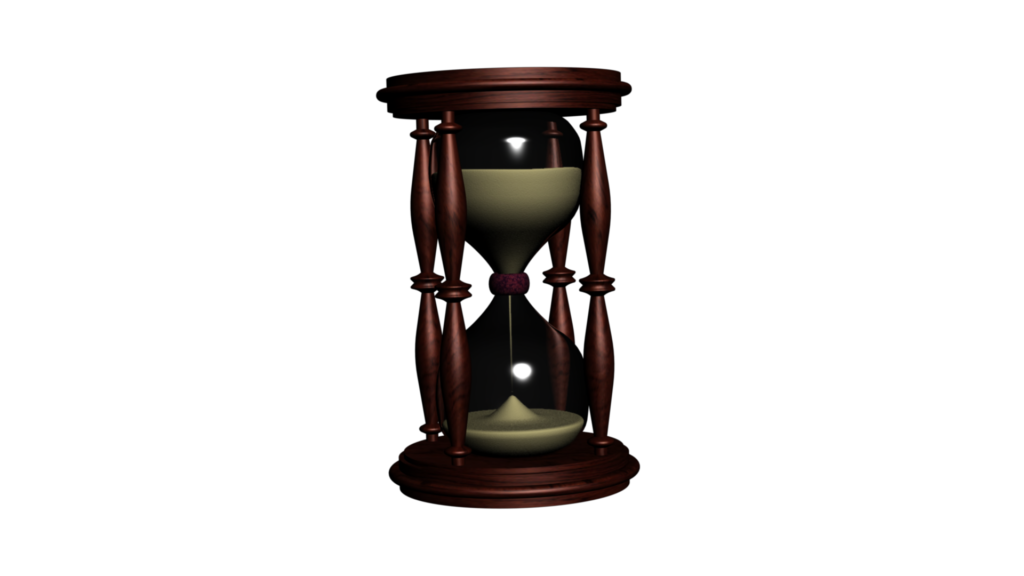 Time themed video of. Hourglass clipart fancy